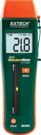 Combination Pin/Pinless Moisture Meter(RH490)