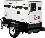 25KW Trailer Mounted Generator