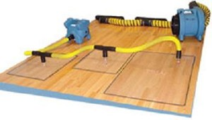 "Set up easily & work fast!Dry out water-damaged hardwoods from above! The Rescue Mat System uses the power of a high-pressure blower like the DriForce to vacuum water vapor right through the surface of the floor. Two different sizes make it easy to custom fit your Rescue Mat System to any floor layout. Setup is fast and simple with just one hose connection per mat Two separate sizes for mix-and-match versatility No taping necessary! Gasket-edge provides a powerful seal An ideal complement to the Airwolf/WolfPack Complete system includes:4 46"" x 30"" mats2 23"" x 30"" mats3 7' hose with cuffs2 Connector sleeves6 Hose cuffs5 T-connectors1 Gasket roll"