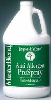 Because allergy sufferers may be sensitive to solvents, perfumes or other hazardous materials, use Anti-Allergen Hypo-Allergenic Pre-Spray on carpets, upholstery and mattresses.