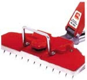 "GT Power-Lok Stretcher-Power-lok switch handle locks into 17 different ""stretch/pattern holding"" positions-Unique swivel head for stretching angles or corners-Variable pin penetration for different carpet thickness-A standard set includes one power unit, tail block with wheels, three 3' estension tubes, Quick Lok tube, and the wheeled carrying case"
