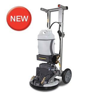 BDS 43/Duo C with floor scrubber with orbital technology