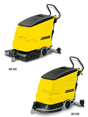 BR/BD 530 Cylindrical Commercial Auto Floor Scrubber